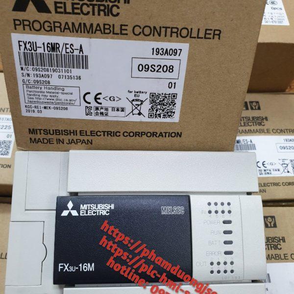 1 PLC FX3U-16MR/ES-A